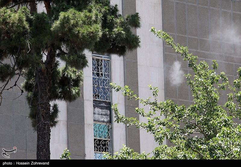 حمله تروریستی به مجلس و مرقد امام