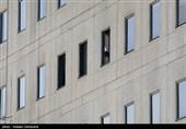 بازسازی طبقات آسیبدیده مجلس 36 ساعت پس از حادثه تروریستی + عکس