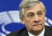رئیس پارلمان اروپا با مردم ایران ابراز همبستگی کرد