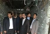 محسن رضایی در محل حمله تروریستی حضور یافت