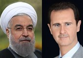 President Pledges Iran's Help in Reconstruction of Syria