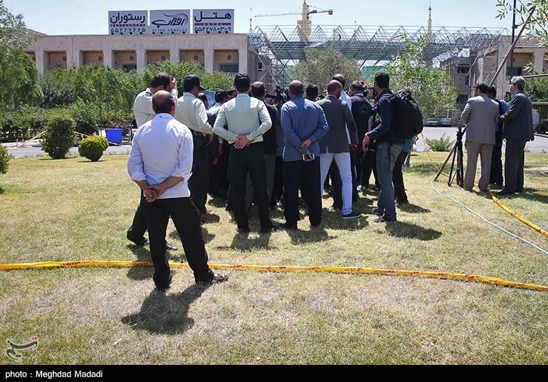 عکس امام زمان و احمدی نژاد