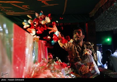 Families Hold Farewell Ceremony for Martyrs of Tehran Terrorist Attacks