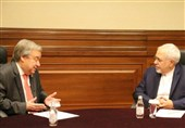Iran's FM, UN Chief Discuss Afghanistan Developments
