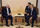 وزیر الخارجیة محمد جواد ظریف یلتقی الرئیس الکازاخستانی