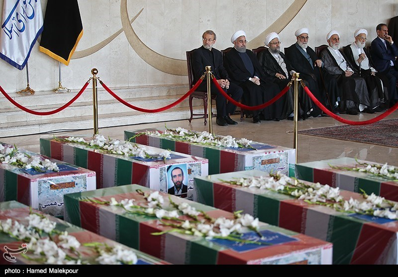 Funeral Procession Held for Iranians Killed in Tehran Terror Attacks (+Photos)