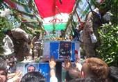 مراسم تشییع شهدای حادثه تروریستی تهران برگزار شد + تصاویر و فیلم