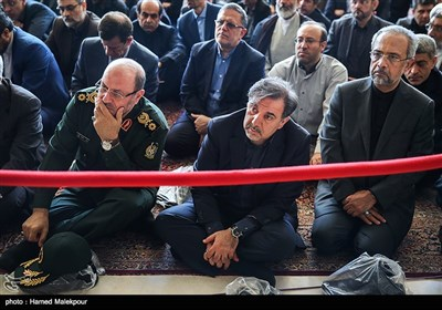 Iran's Top Officials Attend Funeral Ceremony for Martyrs of Tehran Terrorist Attacks