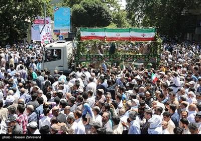 مراسم تشییع پیکر شهدای حادثه تروریستی تهران