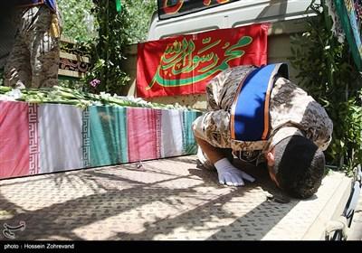 تشییع شهداء الهجومین الارهابیین فی طهران