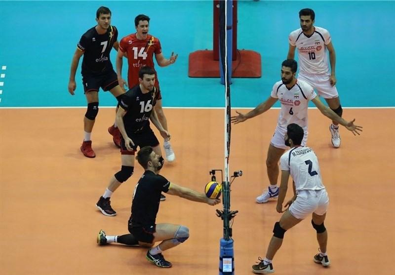والیبال ایران بلژیک