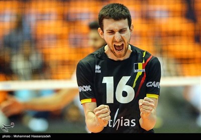 Iran's Volleyball Team Beats Belgium in Tehran