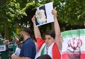محکومیت حملات تروریستی تهران در فرانکفورت+تصاویر