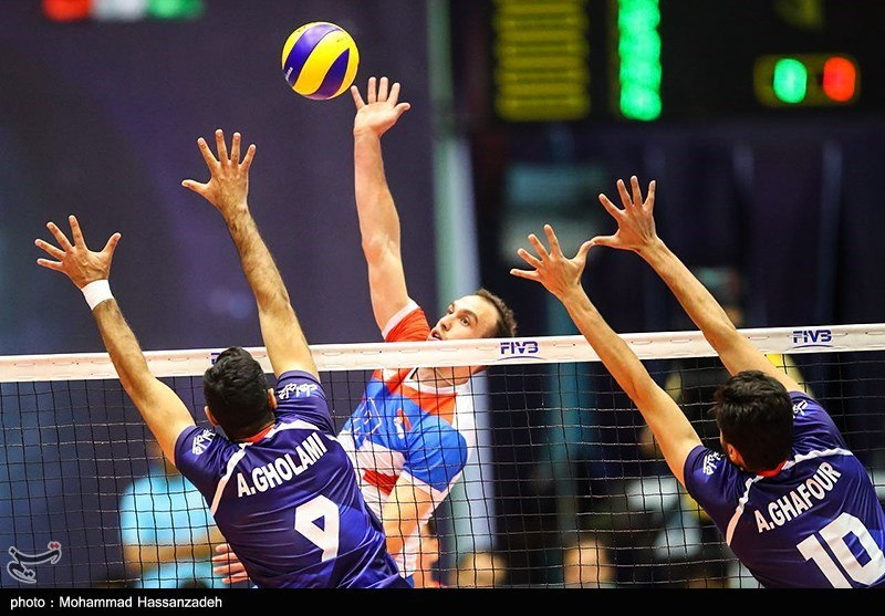 Iran Loses to Serbia in FIVB Volleyball World League