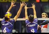 برتری تیم ملی والیبال ایران مقابل کرهجنوبی