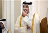 استقبال میشل عون از امیر قطر