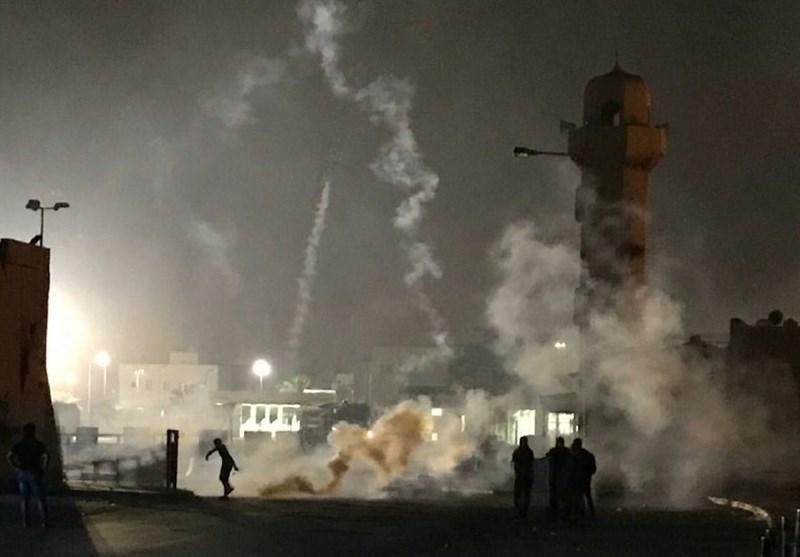 سرکوب تظاهرات بحرینیها