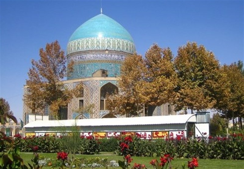 Khajeh Rabi Tomb: A Beautiful Building with A Blue Dome