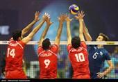 دیدار تیمهای والیبال ایران و آرژانتین - لیگ جهانی والیبال