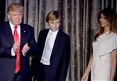 ملانیا ترامپ و پسرش در کاخ سفید مستقر شدند