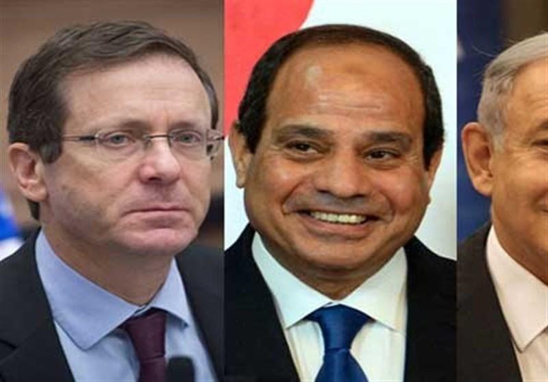 """""""هآرتس"""": نتنیاهو والسیسی التقیا سراً فی القاهرة"""