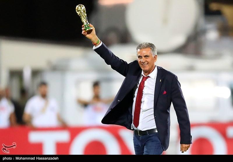 دیدار تیم های فوتبال ایران و ازبکستان-1