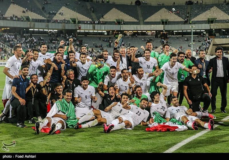 İran Milli Futbol Takımı 2018 Rusya Dünya Kupasında