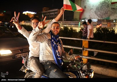 Iran Celebrates after Team Melli Book Ticket to 2018 World Cup