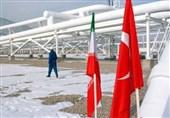 صادرات گاز به ترکیه