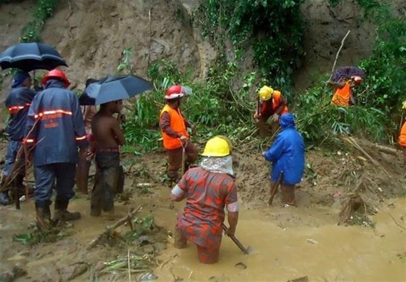 بنگلہ دیش: شدید بارشیں اور لینڈ سلائیڈنگ، 46 افراد جاں بحق