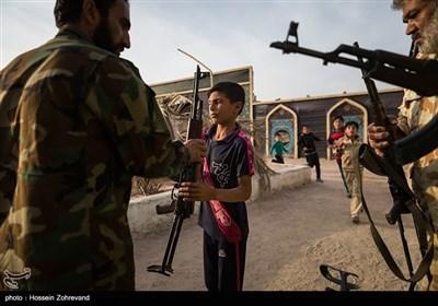 عراق؛ الحشد الشعبی کی ننھی فورس