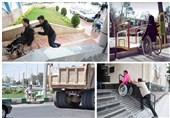 تهران| عزمی برای مناسبسازی معابر در شهرستان بهارستان وجود ندارد