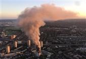 عشرات القتلى والجرحى فی حریق برج سکنی فی لندن + فیدیو وصور