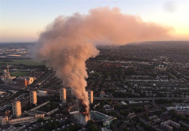 آتشسوزی لندن
