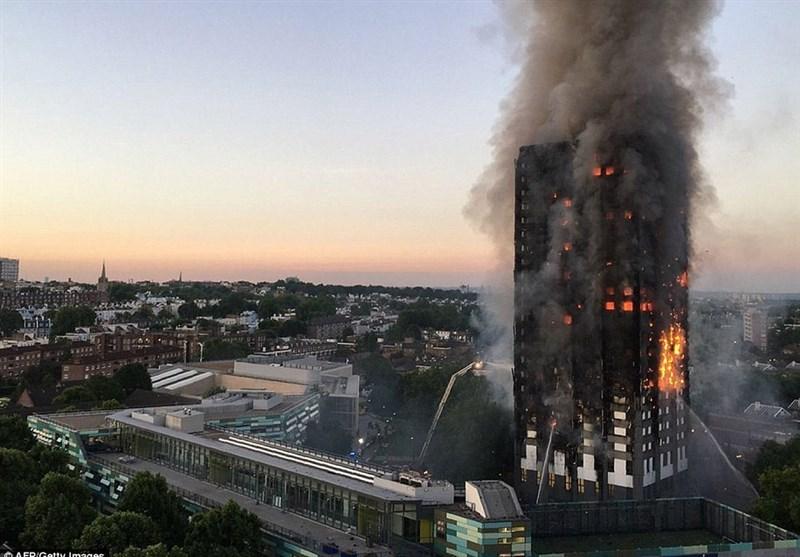 آتش لندن