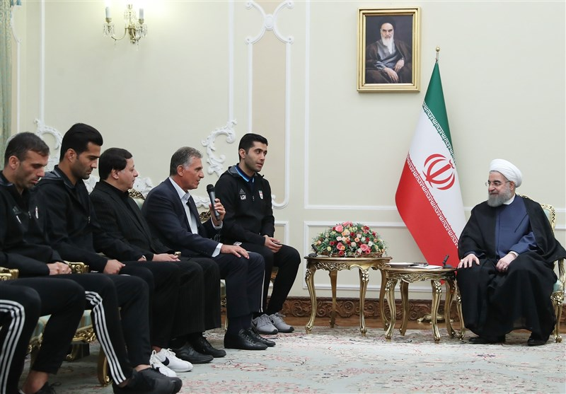 Football Wins Build Up Iran's National Unity: President