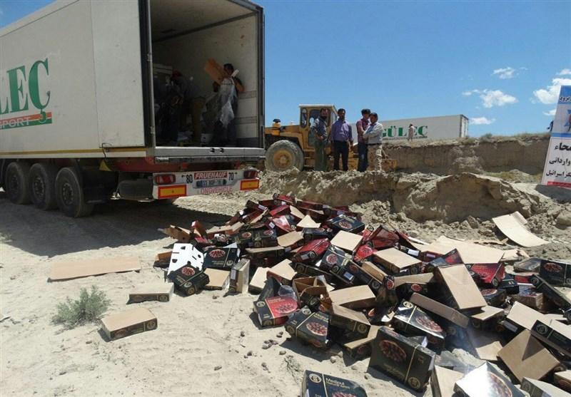 کرمانشاه| بیش از 4 تن خرمای غیربهداشتی در روانسر کشف و ضبط شد