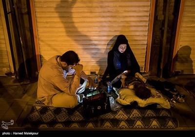 مراسم احیای شب قدر در حسینیه همدانیها