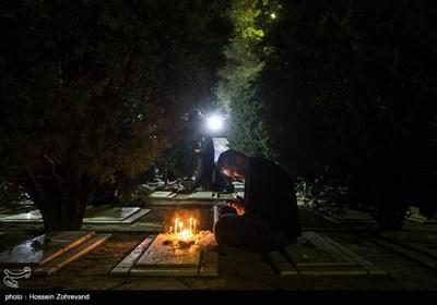 مراسم احیای شب قدر در بهشت زهرا (س)