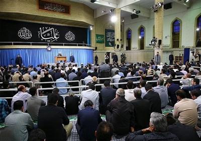 مداحی آقای ماشاء الله عابدی در حضور رهبر انقلاب