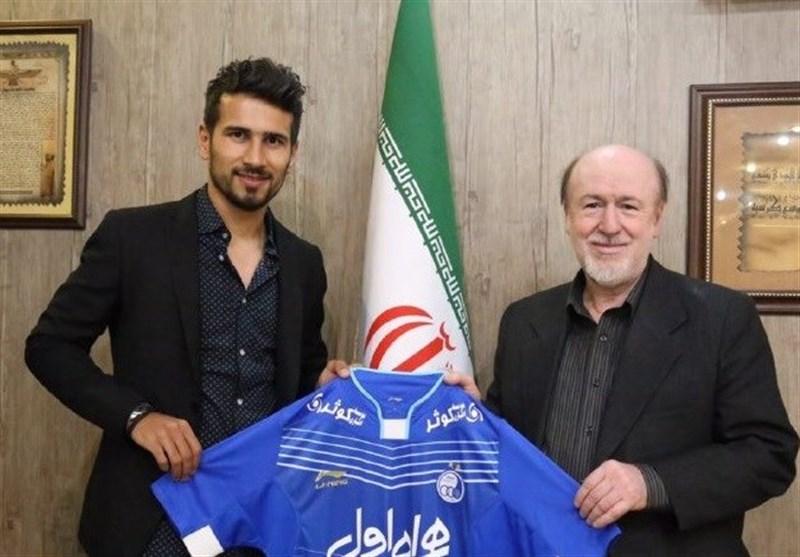 Sajjad Shahbazzadeh Returns to Esteghlal Football Team