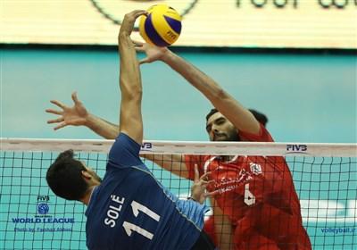 والیبال ایران آرژانتین محمد موسوی