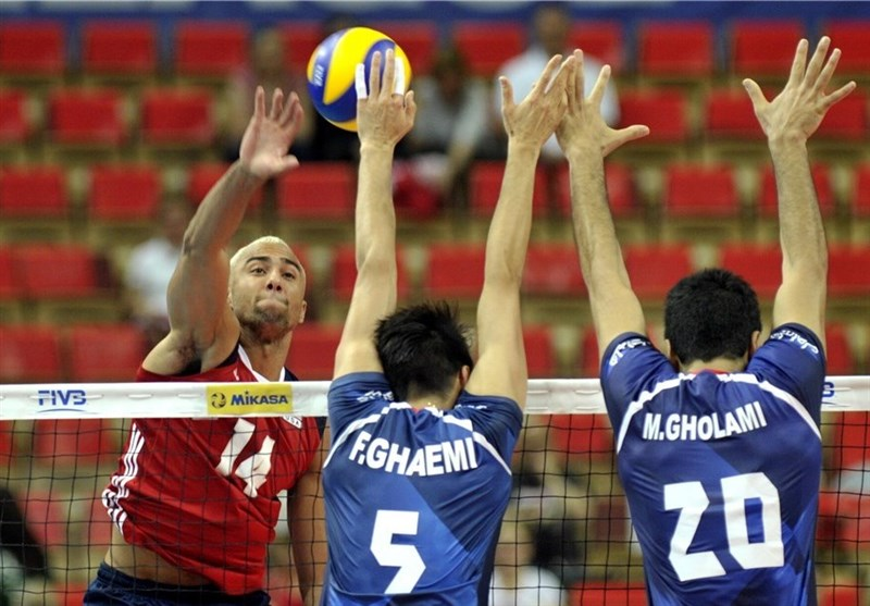 FIVB World League: Iran Suffers Defeat against USA
