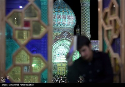 Vigil Held at Religious Site in Central Iran
