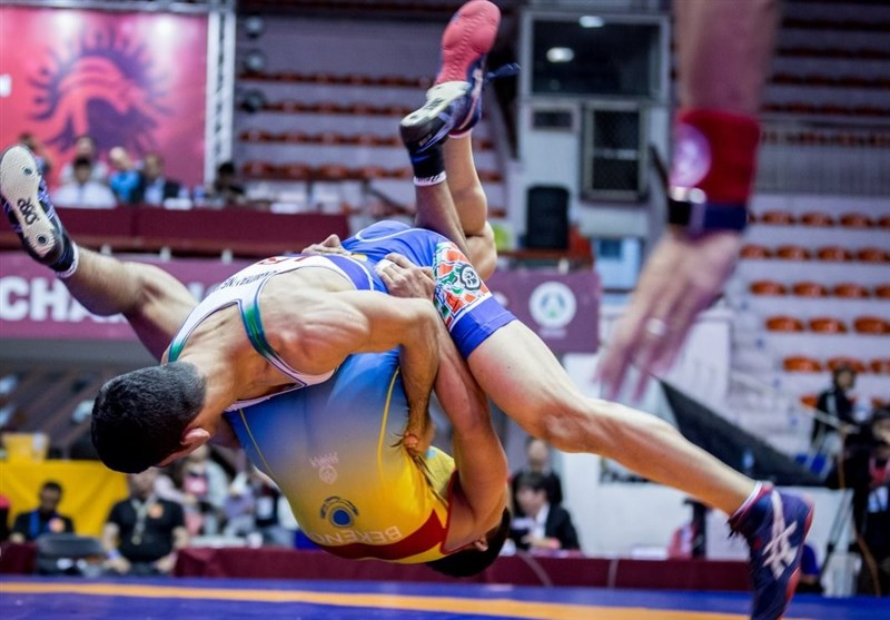 Iranian Greco-Roman Team Win Asian Junior Championships