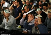 مراسم احیای شب بیست و یکم ماه رمضان در اردبیل به روایت تصویر