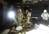 انفجار شدید ناشی از نشت گاز در یک ساختمان مسکونی در تهران + تصاویر