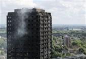 برج گرنفل لندن بعد از آتشسوزی + تصاویر