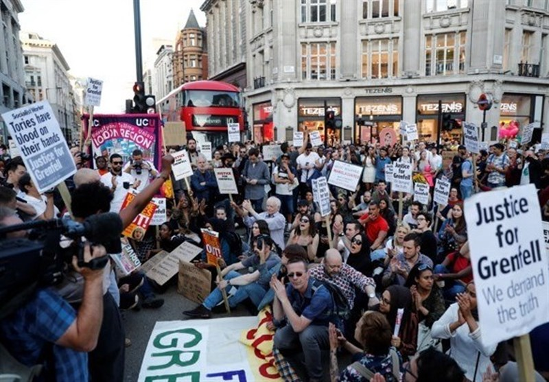 Grenfell Tower Fire Incites Angry London Protests