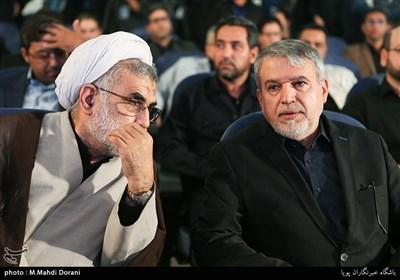 سیدرضا صالحی امیری وزیر فرهنگ و ارشاد اسلامی و حجت الاسلام محمدرضا حشمتی